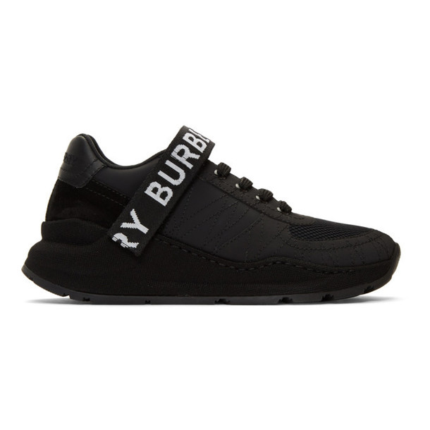 Burberry Black Ronnie Zig Sneakers