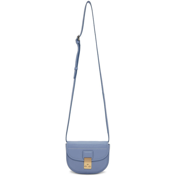 3.1 Phillip Lim Blue Mini Pashli Bag