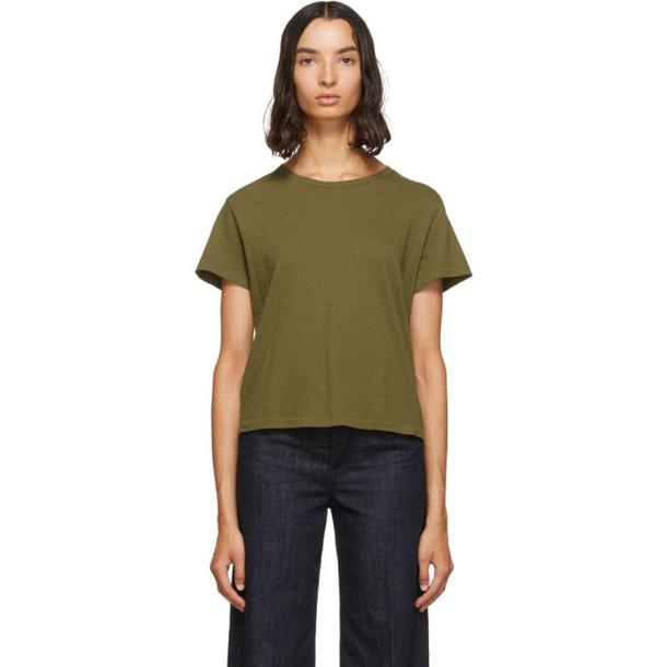 Re/Done Green Originals Classic T-Shirt