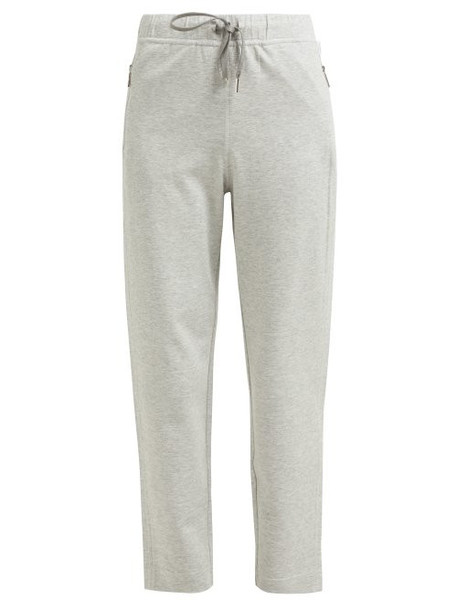 pants track pants light grey