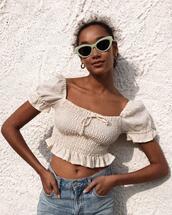 sunglasses,top