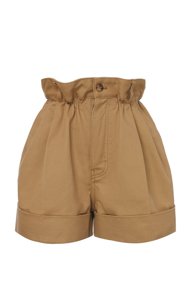 Miu Miu Cuffed Shorts Size: 36 in neutral