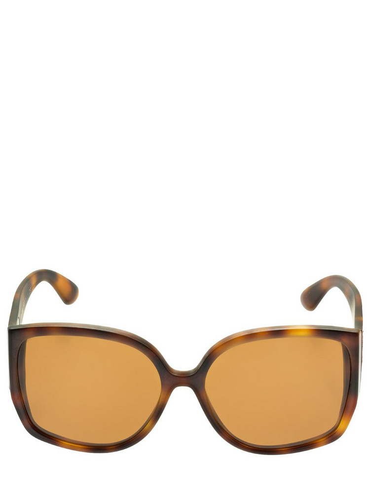 BURBERRY Tb Logo Butterfly Acetate Sunglasses in brown