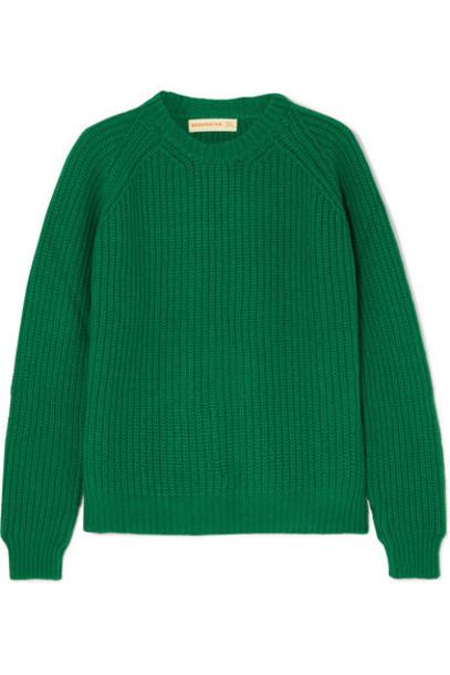 &Daughter - Moira Ribbed Wool Sweater - Green