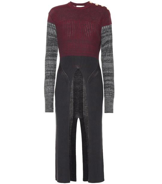 Chloé Long wool-blend sweater