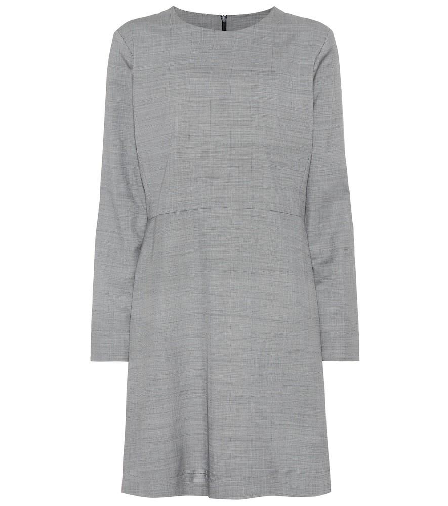 A.P.C. Maddy wool dress in grey