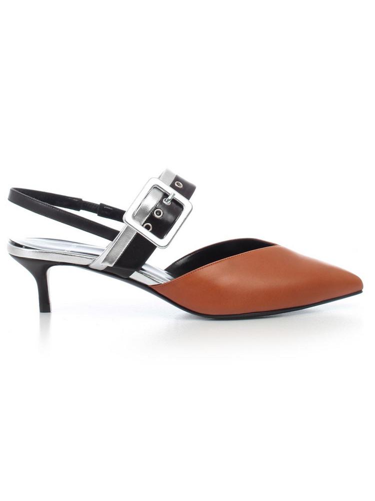 Pierre Hardy Slingback Sandals in camel / multi
