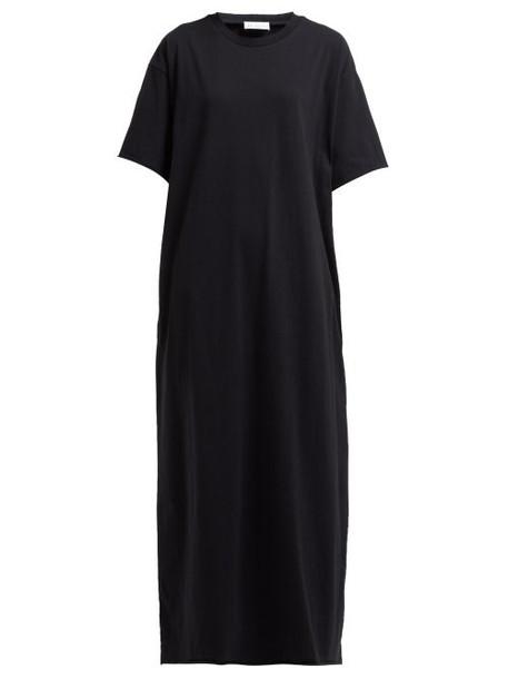Raey - Jersey Maxi T Shirt Dress - Womens - Black