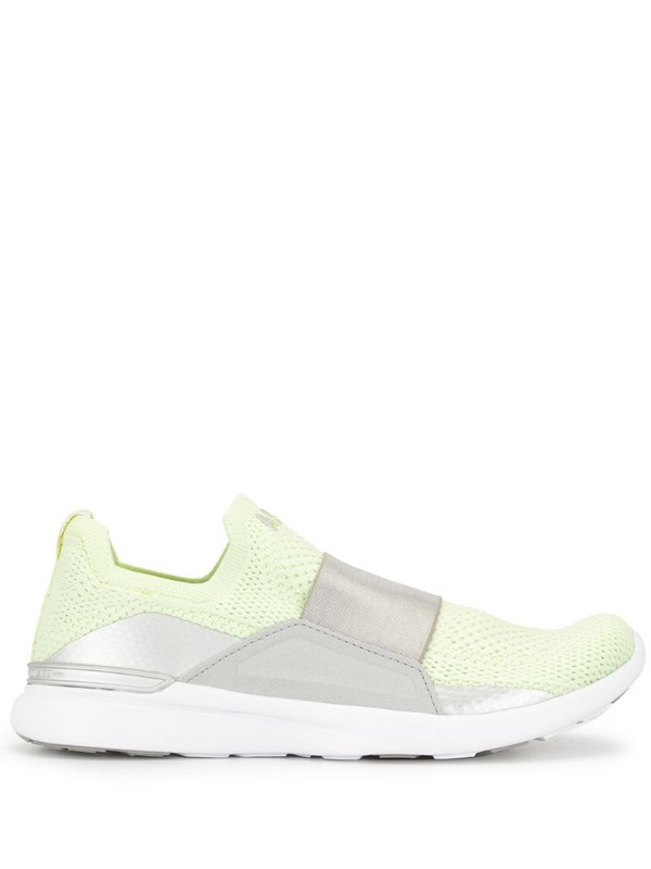 APL: ATHLETIC PROPULSION LABS TechLoom Bliss slip-on knitted sneakers in green