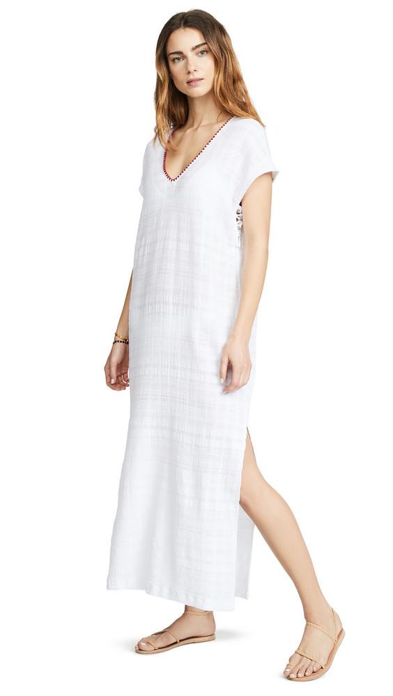 Tavik Swimwear Tasha Cover Up Dress in white