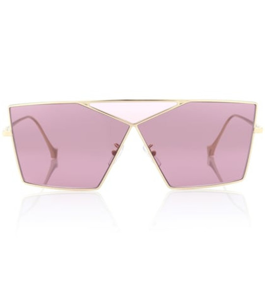 Loewe Square Puzzle sunglasses in pink