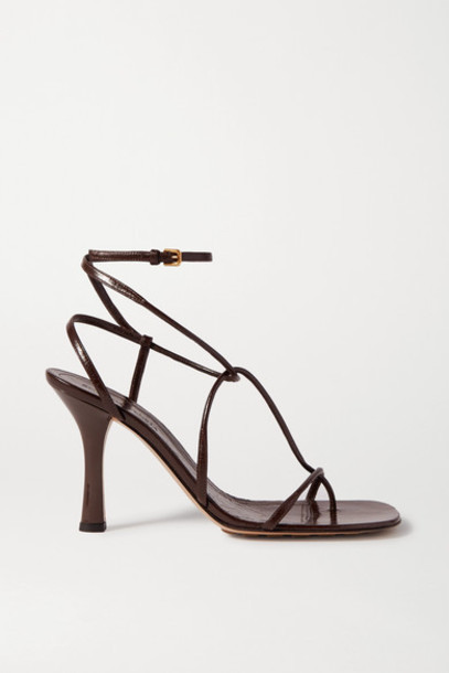 Bottega Veneta - Leather Sandals - Brown