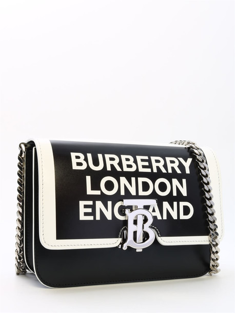 Burberry Small Tb Bag Logo in black