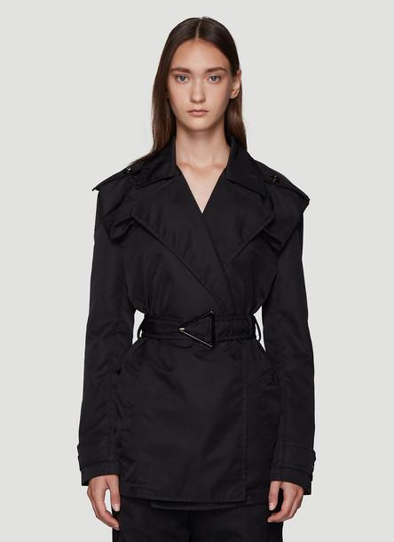 Bottega Veneta Trench Coat in Black size IT - 42