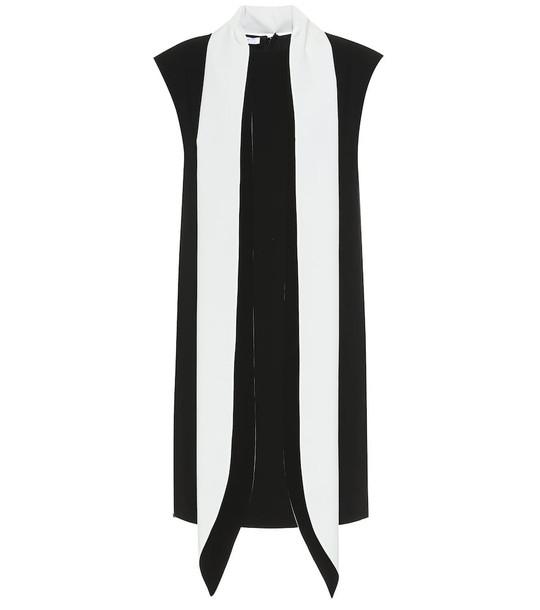 Givenchy Wool crêpe minidress in black
