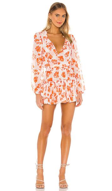MISA Los Angeles Lorena Dress in Orange