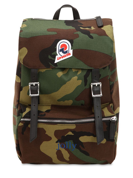 INVICTA Jolly Star Camo Backpack