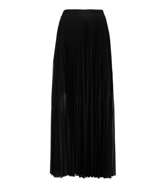 Victoria Victoria Beckham Pleated skirt in black