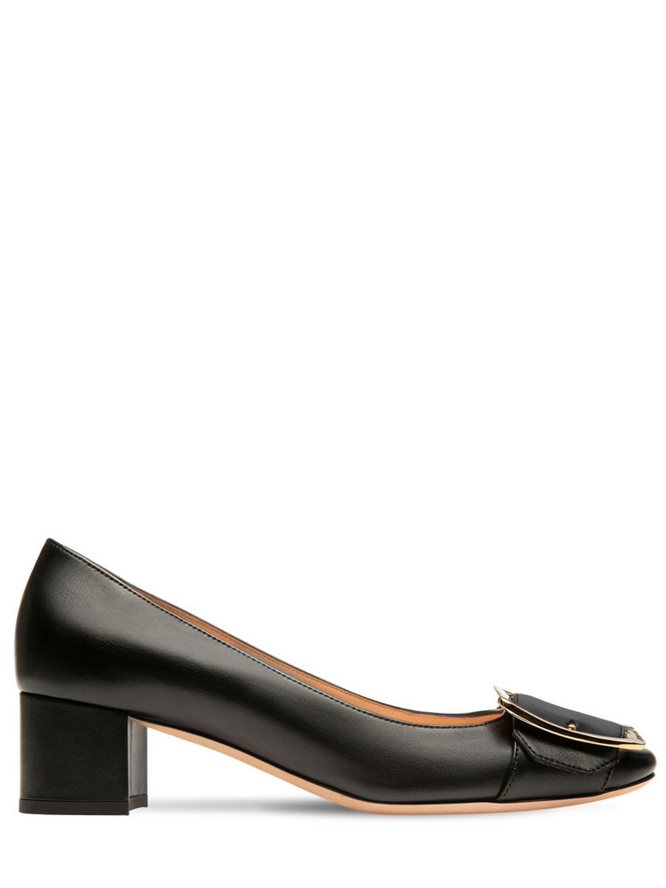 BALLY 45mm Jackie Leather Pumps in black