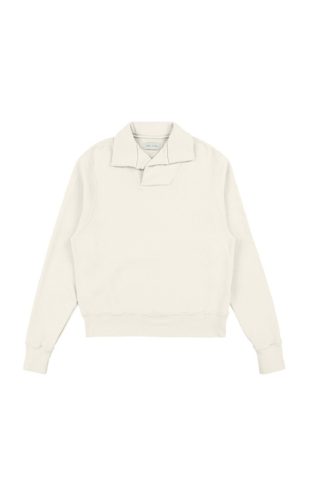 Les Tien Yacht Cotton Sweatshirt in ivory