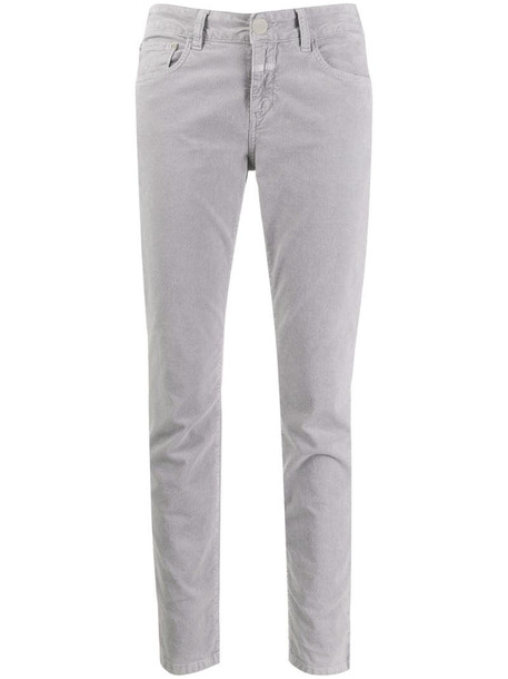 Closed skinny-fit jeans in grey