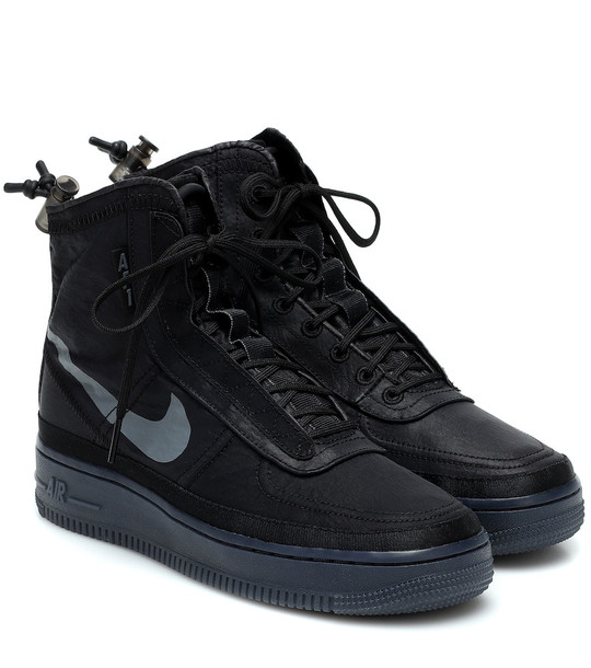 Nike Air Force 1 Shell sneakers in black