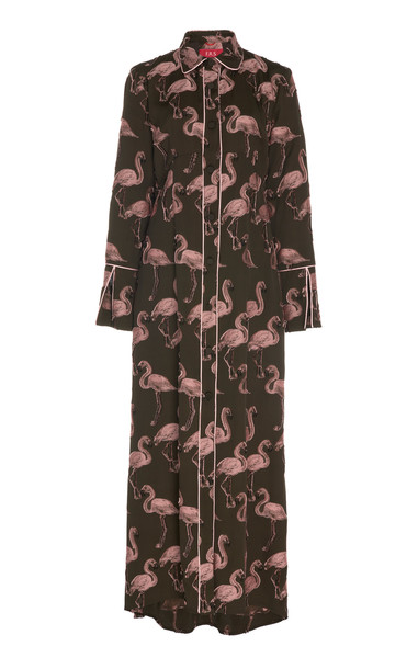 For Restless Sleepers Briareo Printed Maxi Dress in print