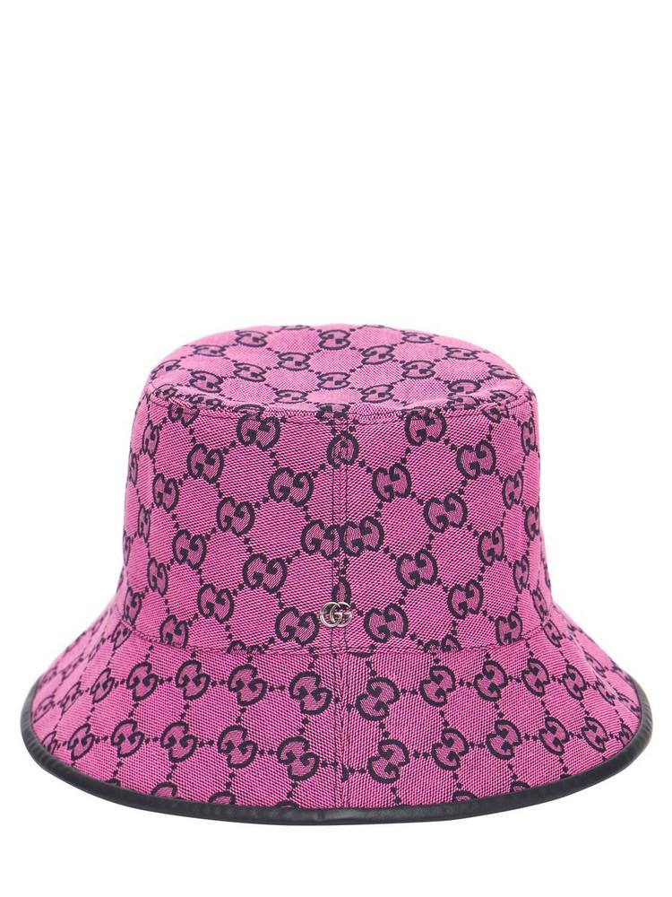 GUCCI Gg Multicolor Canvas Bucket Hat