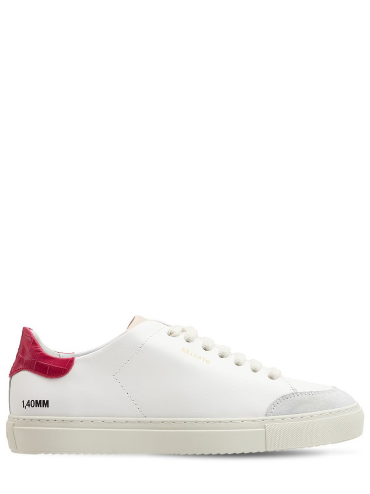 AXEL ARIGATO Clean 90 Triple Sneakers in red / white