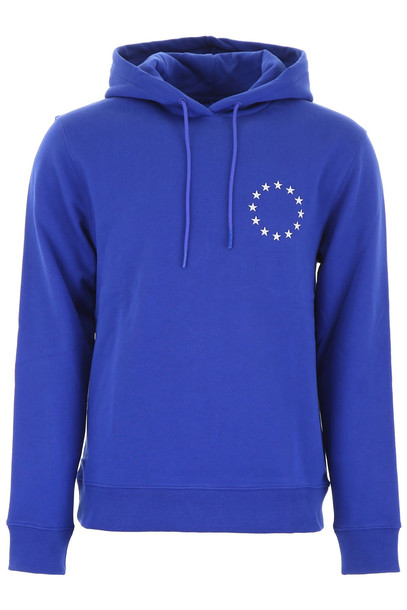Études Études Europe Hoodie in blue