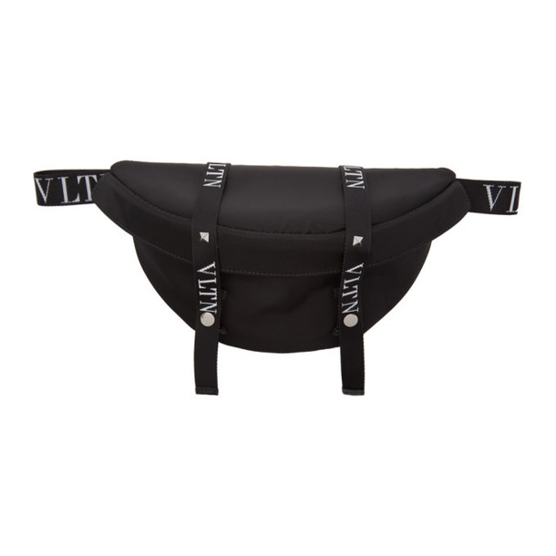 Valentino Black Valentino Garavani 'VLTN' Belt Bag