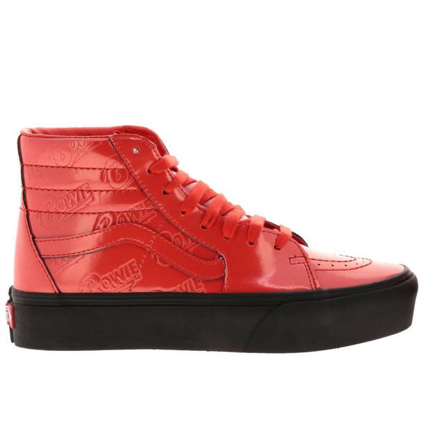 Vans Sneakers Shoes Women Vans in red