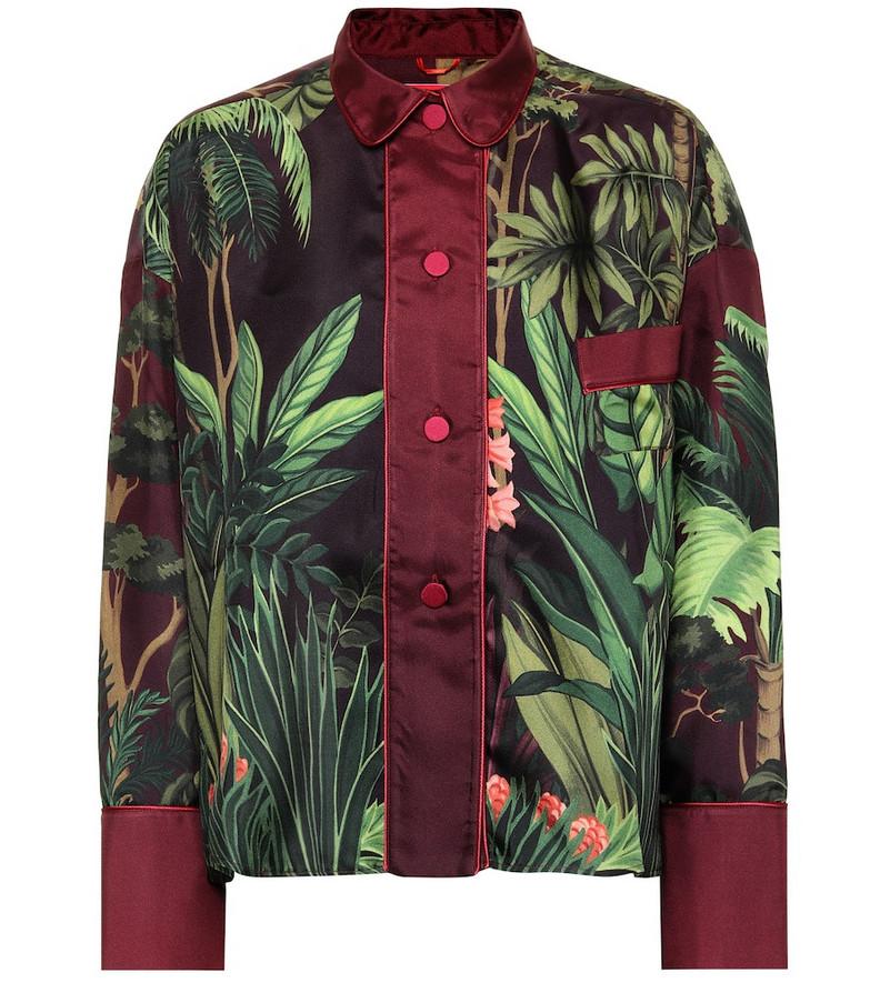 F.R.S For Restless Sleepers Ipno silk pajama top