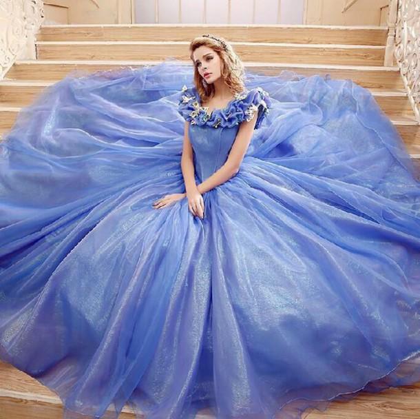Dress Cinderella Ball Gown Dress Cinderella Ball Gown Wheretoget