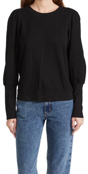 Apiece Apart Olimpio Sweatshirt in black