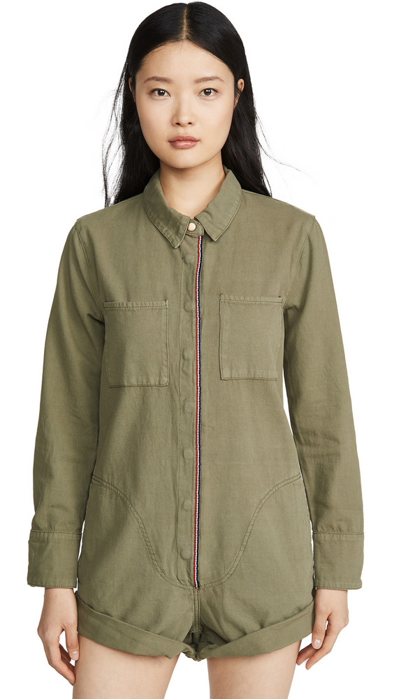 One Teaspoon French Prophecy Jumpsuit in khaki