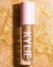 make-up,gold make-up
