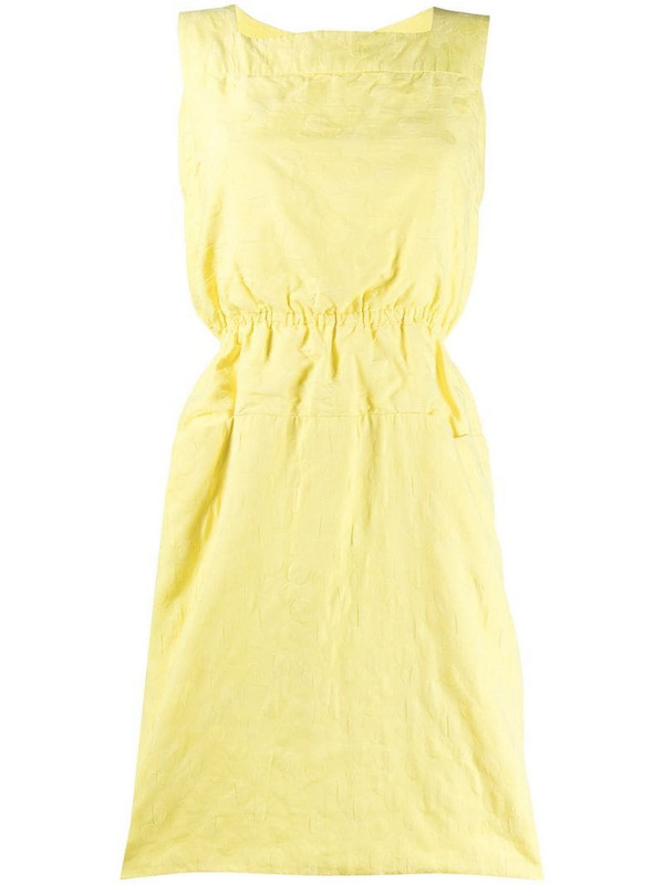 Pierre Cardin Pre-Owned 1960s gathered tea dress in yellow