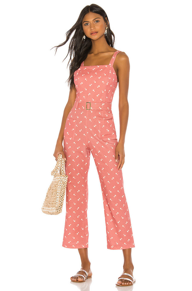 ELLEJAY Holly Jumpsuit in pink