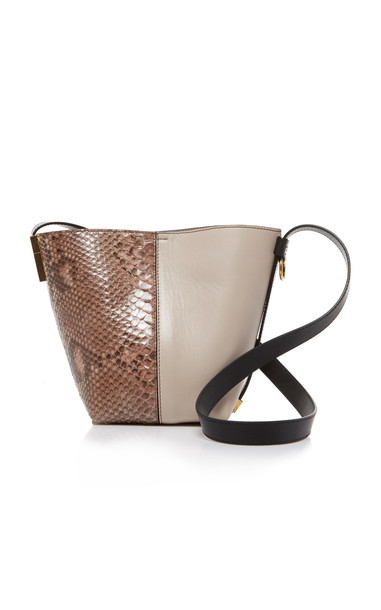 Givenchy GV Mini Bucket Bag in neutral