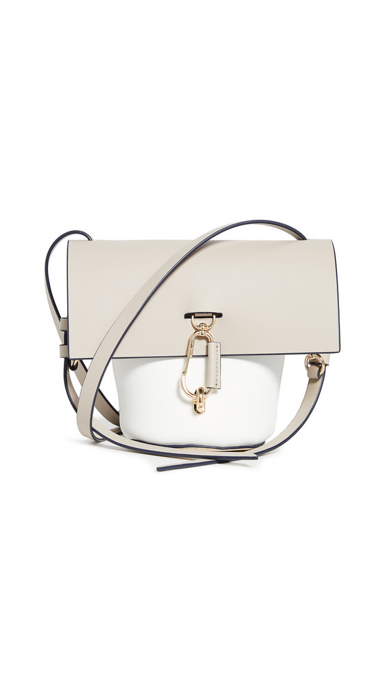 ZAC Zac Posen Belay Mini Colorblock Crossbody in stone