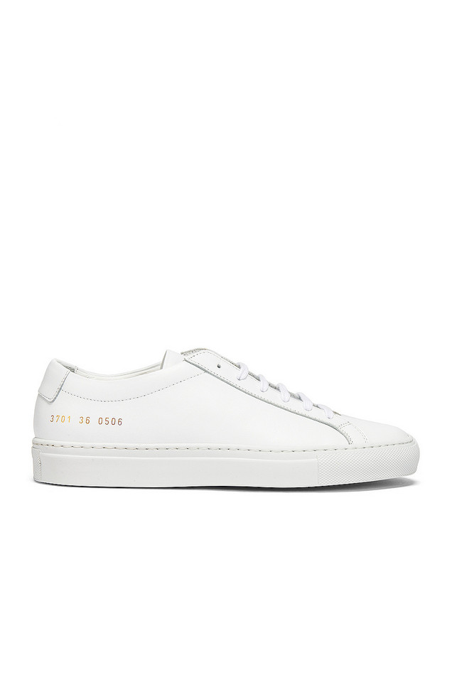 Common Projects Original Achilles Low Sneaker in white