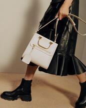 shoes,bag,skirt