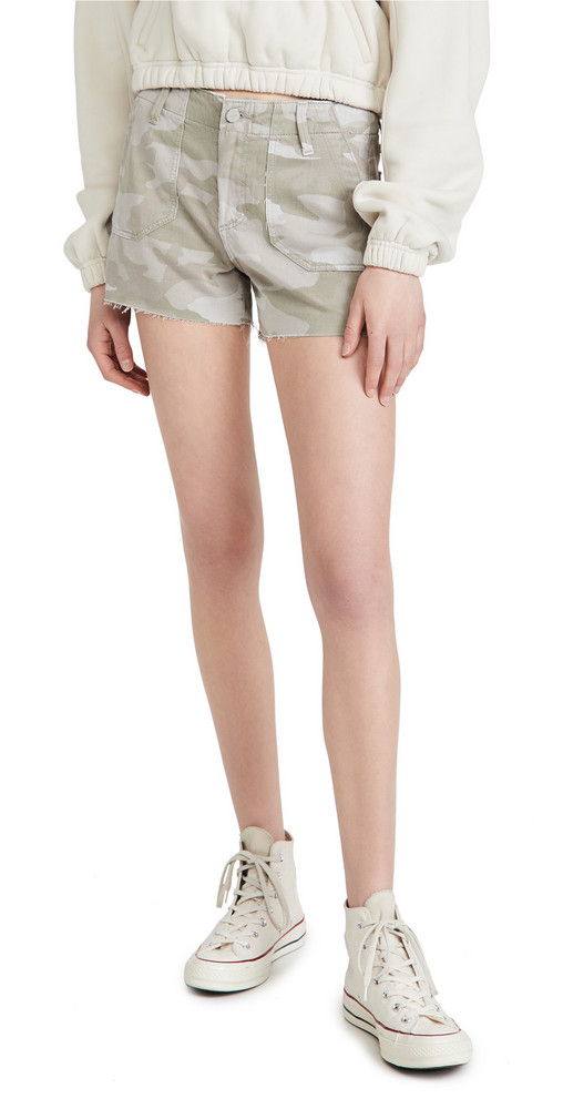 PAIGE Mayslie Utility Shorts in print
