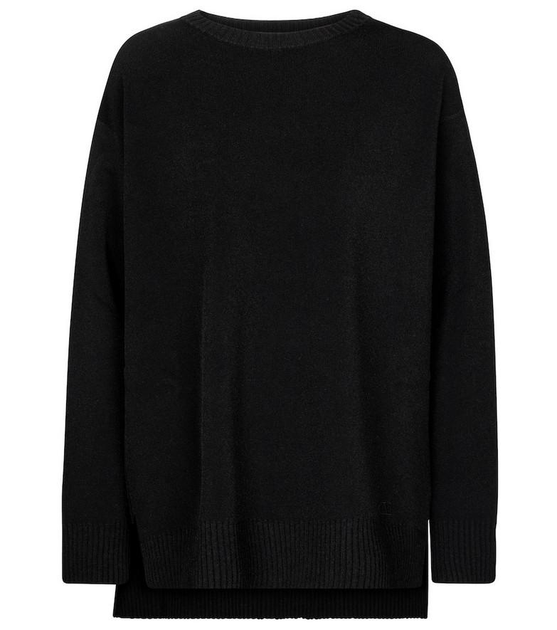 Valentino oversized sweater in black
