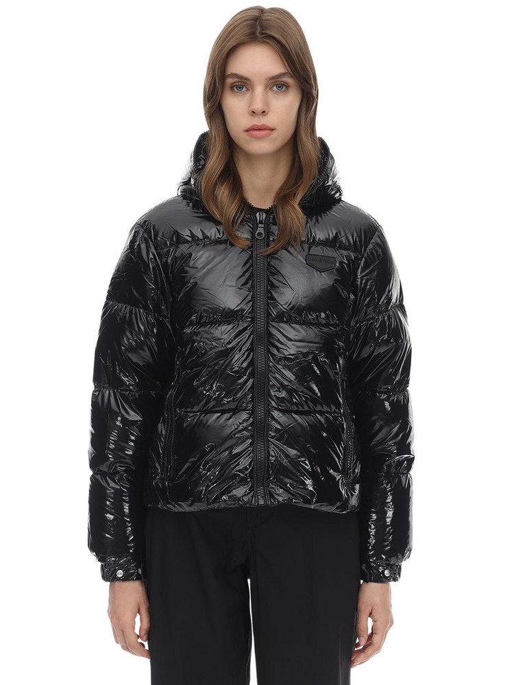 DUVETICA Bellatrixdue Nylon Down Jacket in black