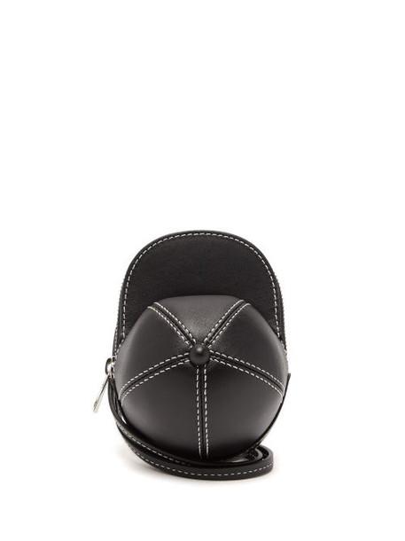 JW Anderson - Nano Cap Leather Cross-body Bag - Womens - Black