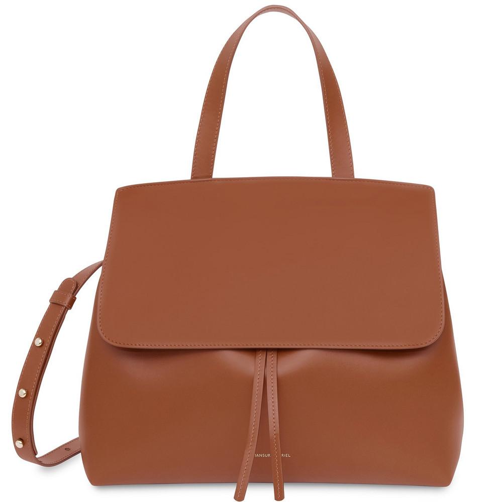 Mansur Gavriel Calf Lady Bag - Ginger