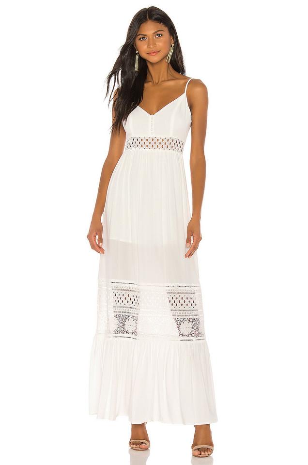 JACK by BB Dakota Kaia Maxi Dress in white