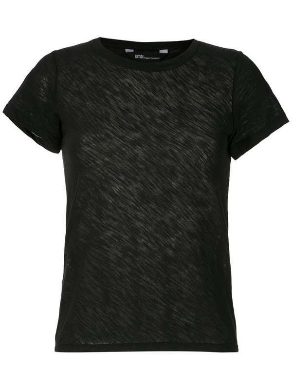 Uma - Raquel Davidowicz Cabo ribbed T-shirt in black